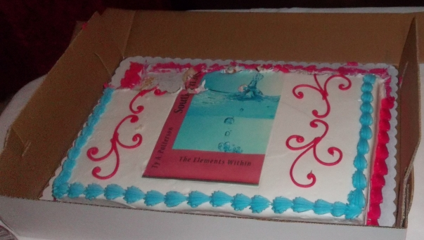 Cake at the Book Release Party