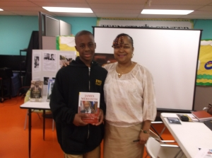 Charles Tisdale Library Book Reading