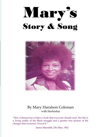 hardback cover Mary's Story
