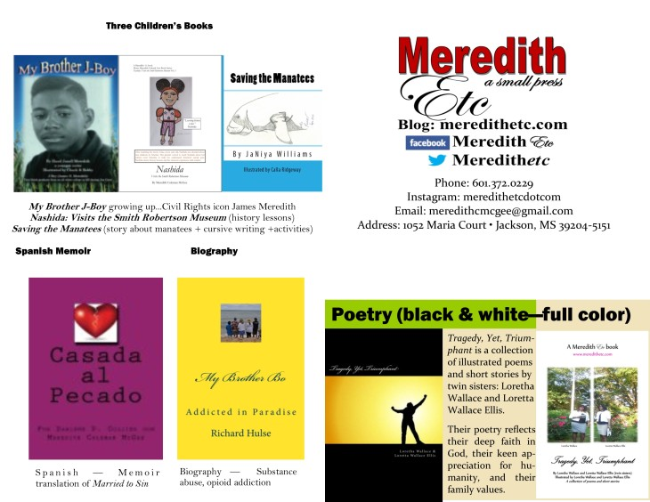 Meredith Etc brochure JPEG front