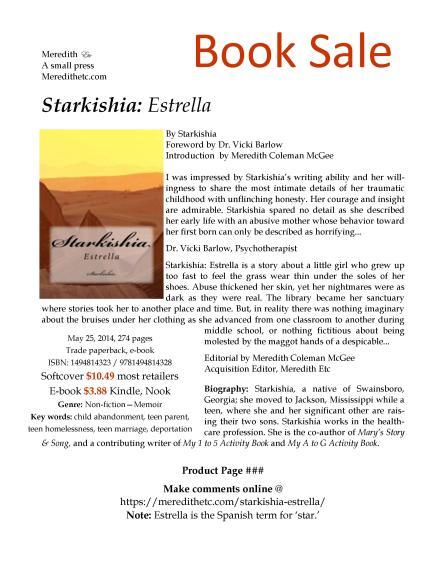 Starkishia Estrella Product Page