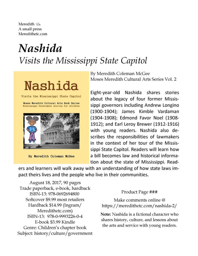 Nashida 2 Product Page