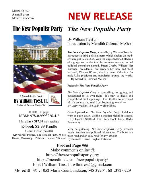 New Populist Party Product Page