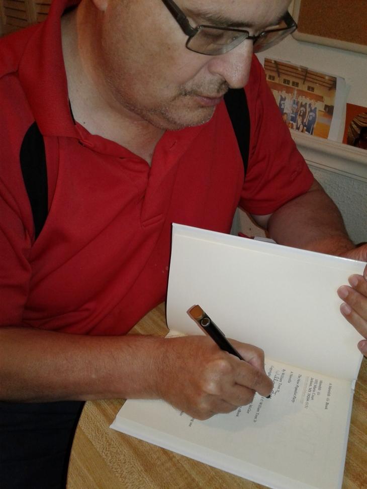 william trest autograph