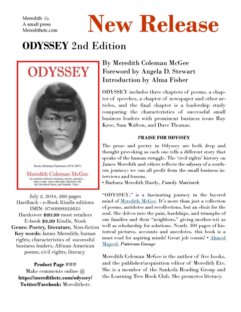 Odyssey 2nd Edition Product Page